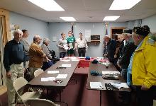 Students Visit Greene American Legion
