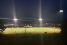 Photo of stadium lights