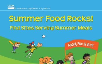 Summer feeding program poster