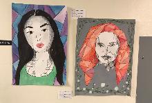 Advanced Art Students' Works