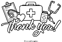 Thumbnail of Thank You Coloring Page