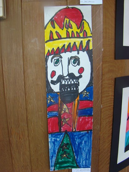 2nd Gr Marker Drawing