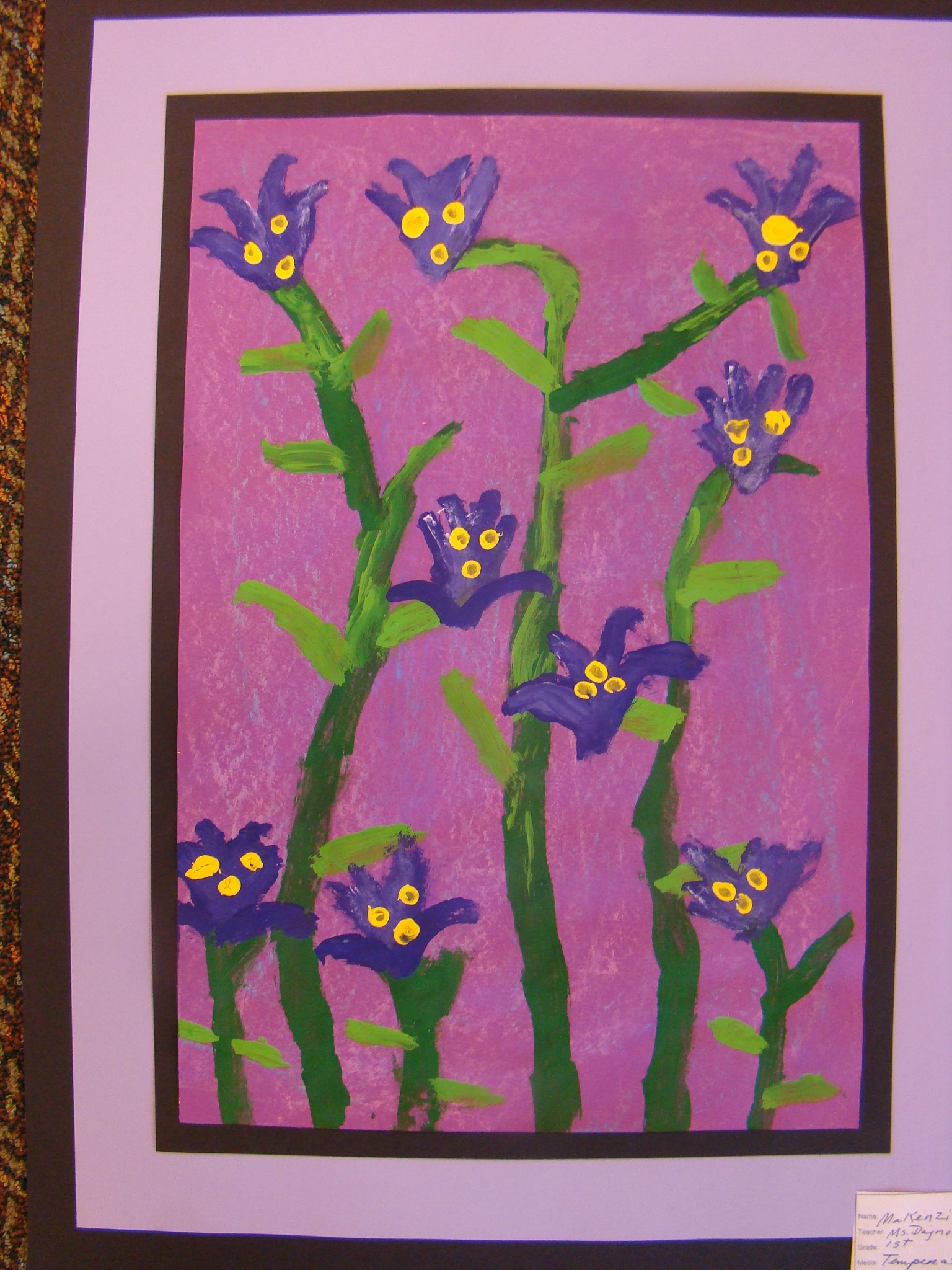 1st Gr. Painting