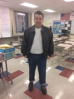 Logan as a greaser