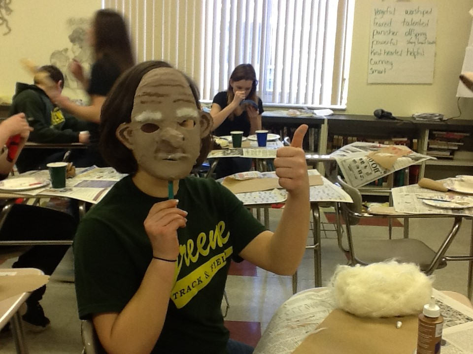 Mythology masks