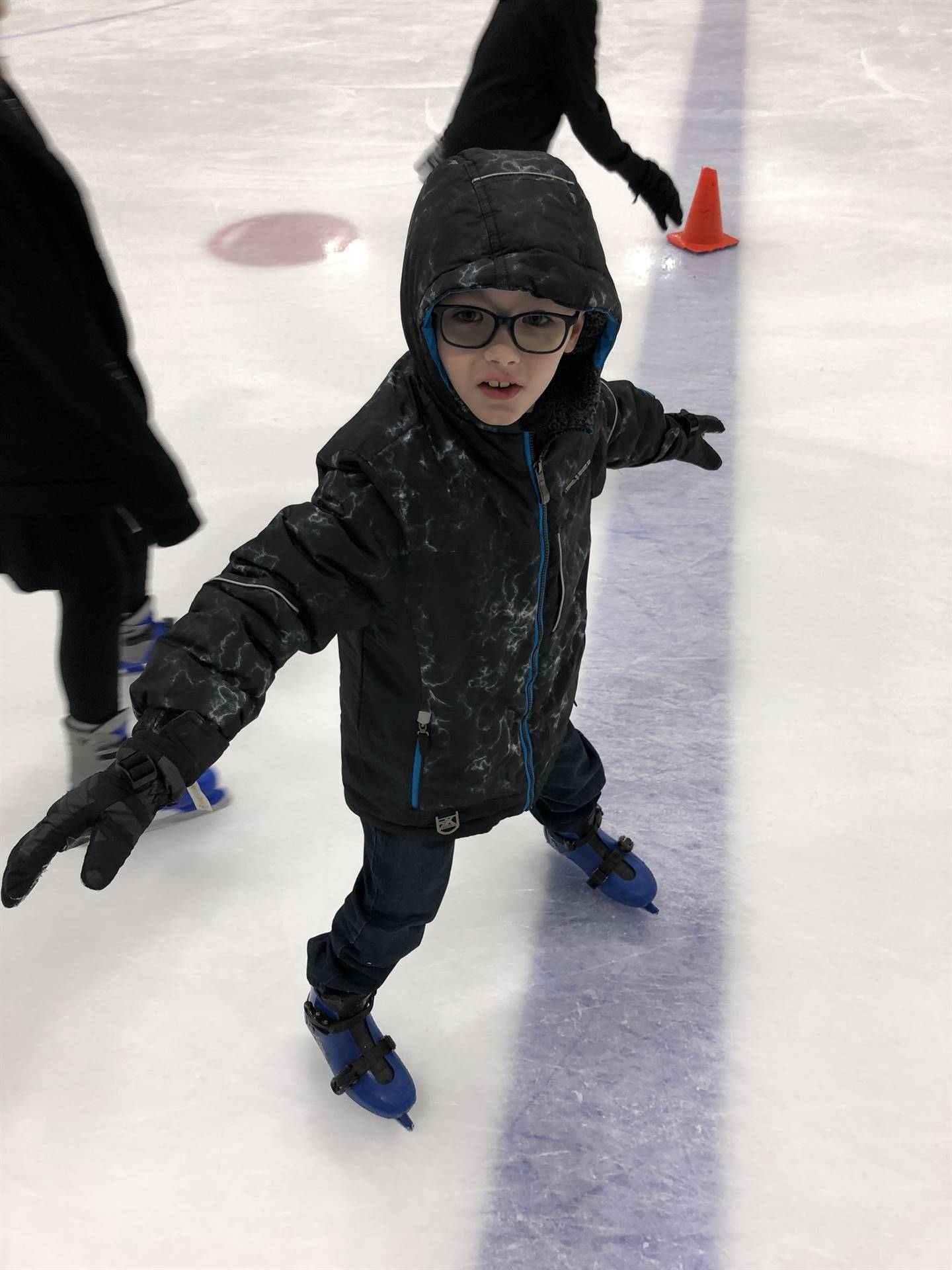Josiah Ice Skating
