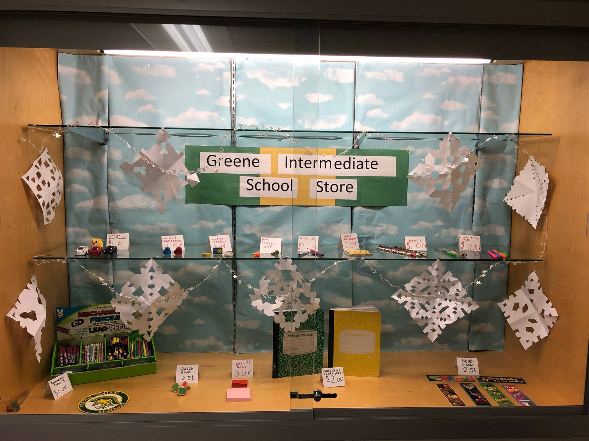 The Greene Intermediate School Store