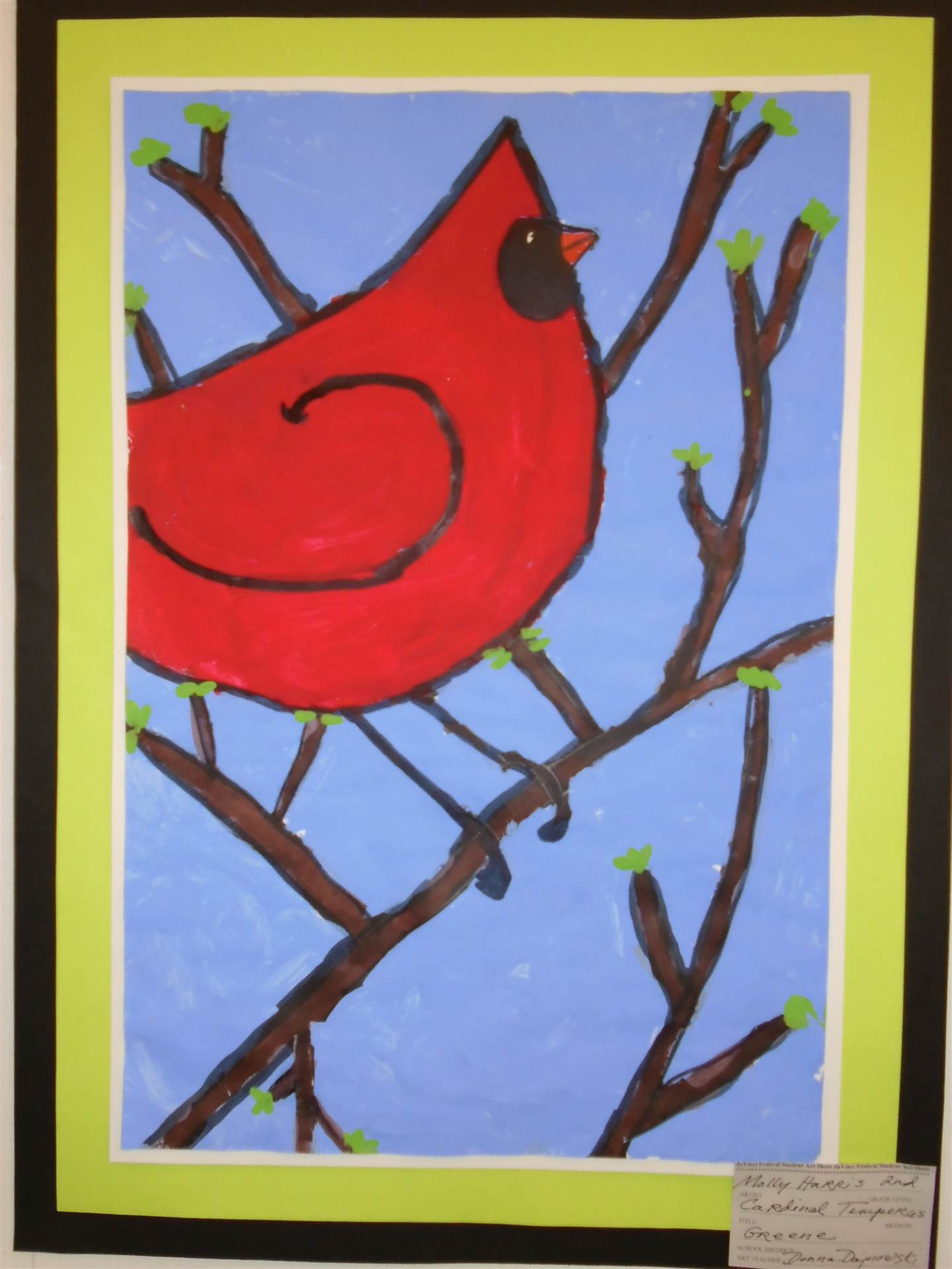 2nd GrTempera Painting