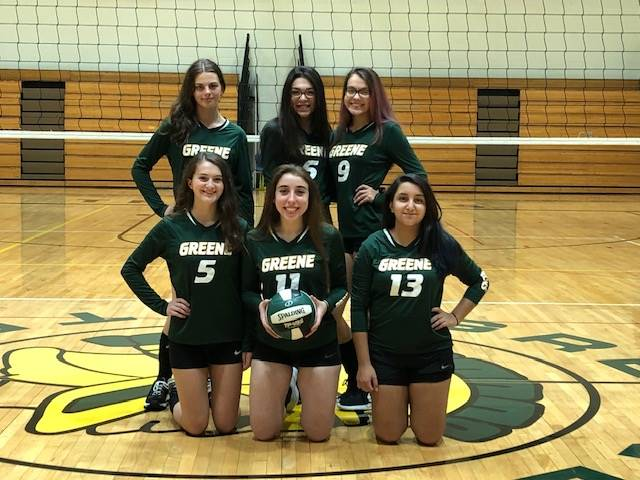 Photo of 2018-2019 volleyball team