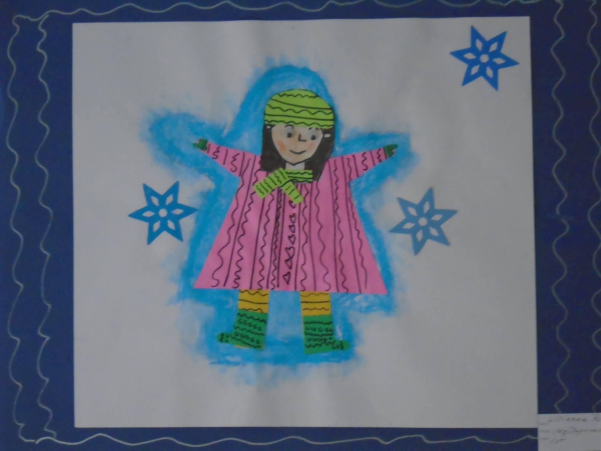Snow Angel Collage