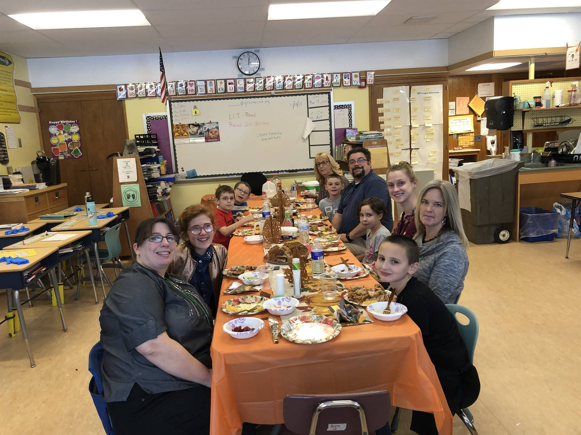 Our Classroom Thanksgiving Traditions
