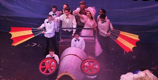 photo of chitty chitty bang bang scene