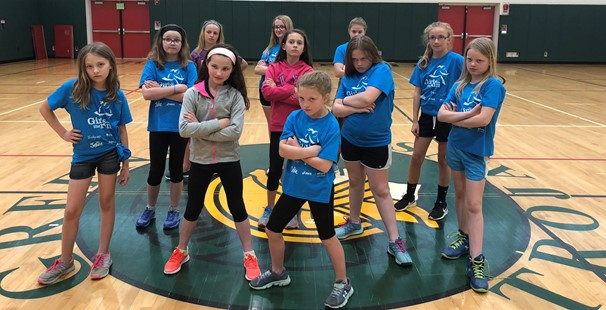 Photo of Intermediate girls on the run students