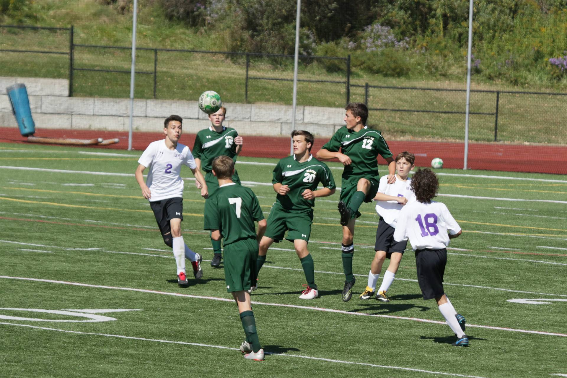 photo of 2019 boys jv soccer game