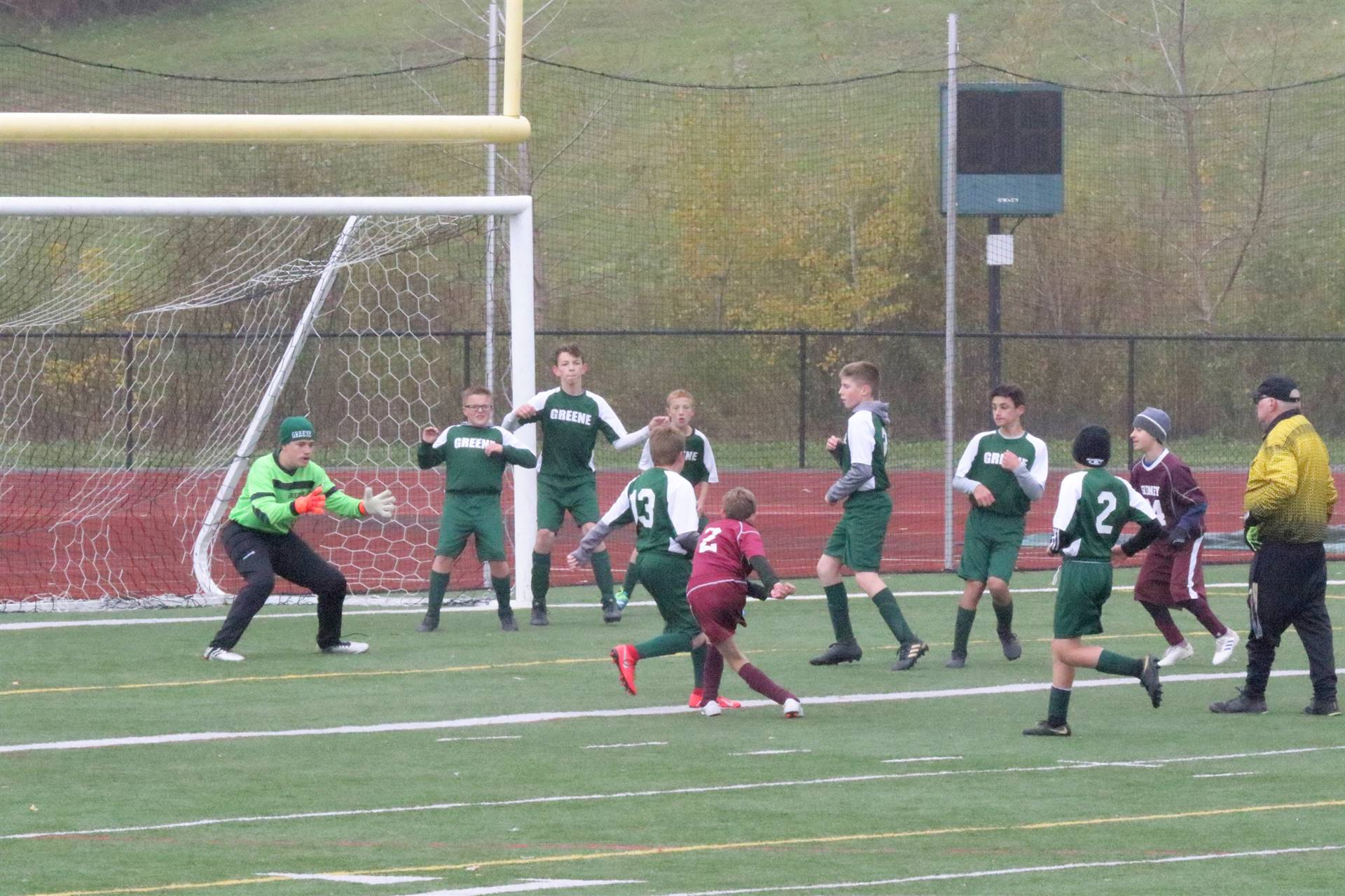 photo of 2019 boys modified soccer game