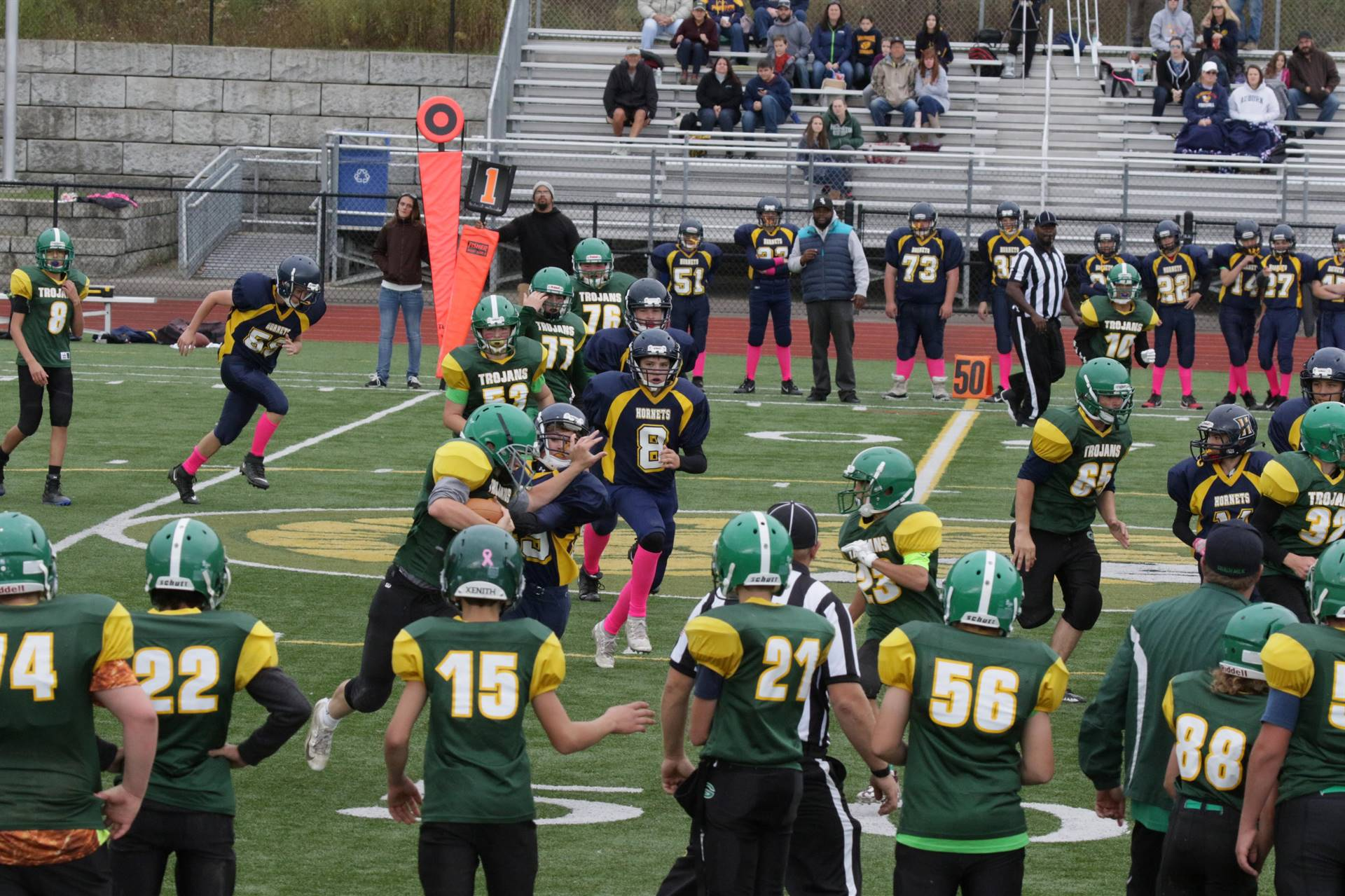 photo of 2019 modified football game
