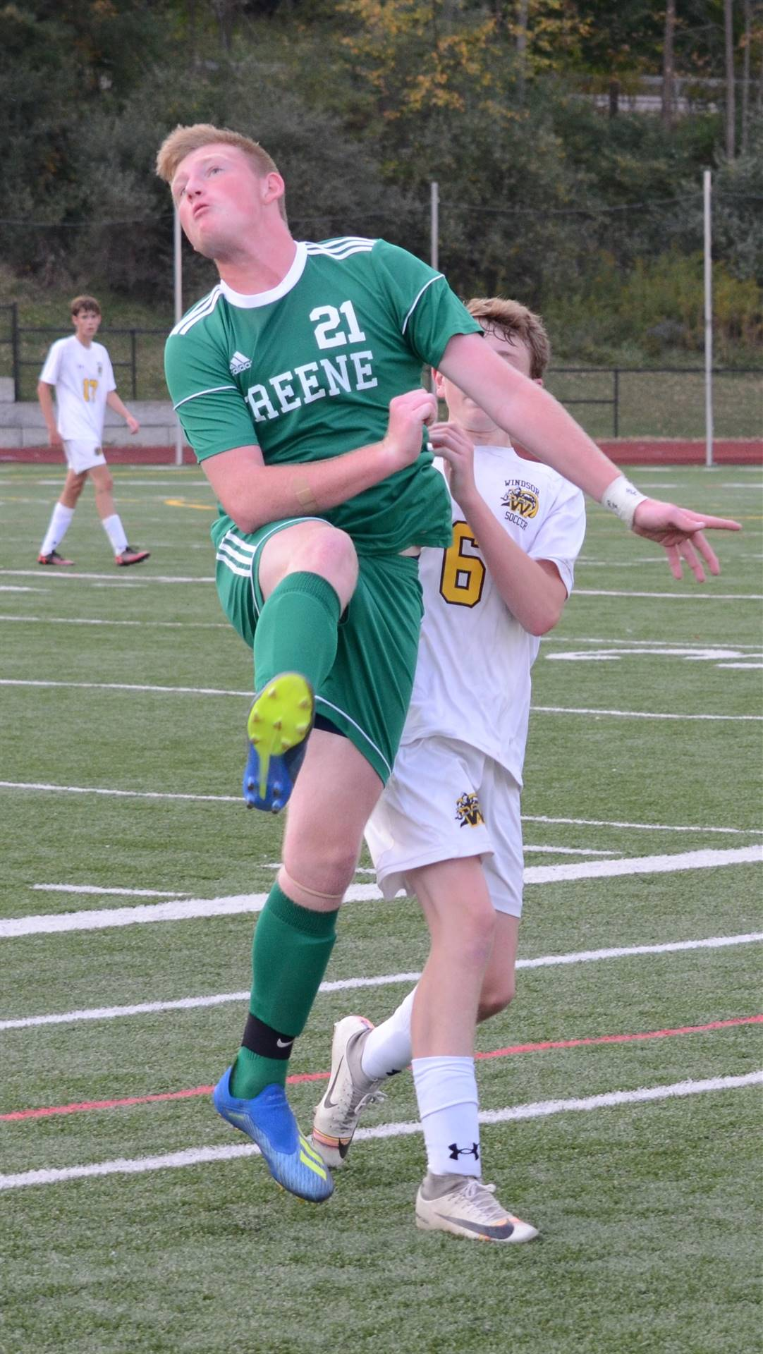 photo of boys soccer player