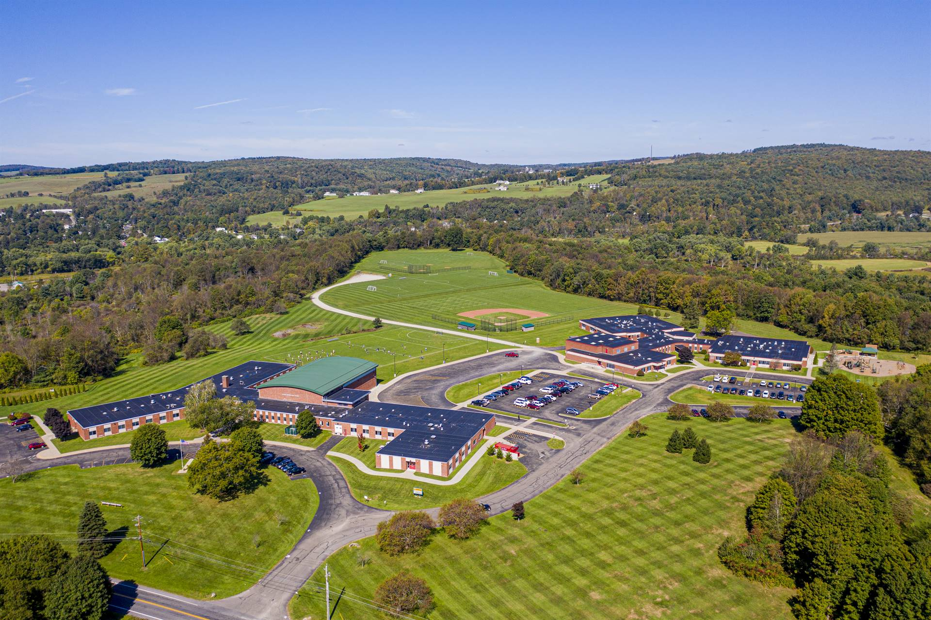Areal Photo of Elementary Campus