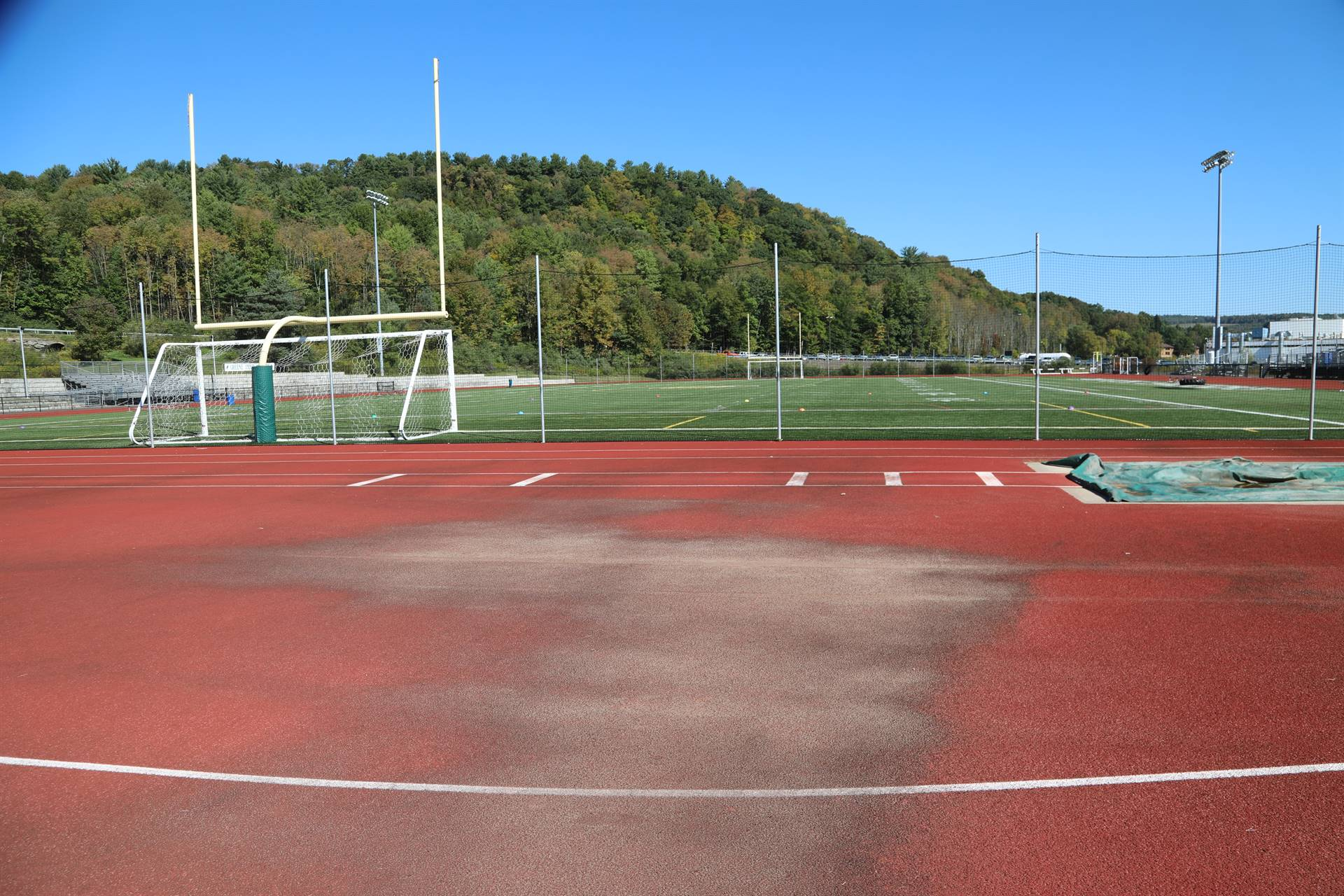 Photo of track surface