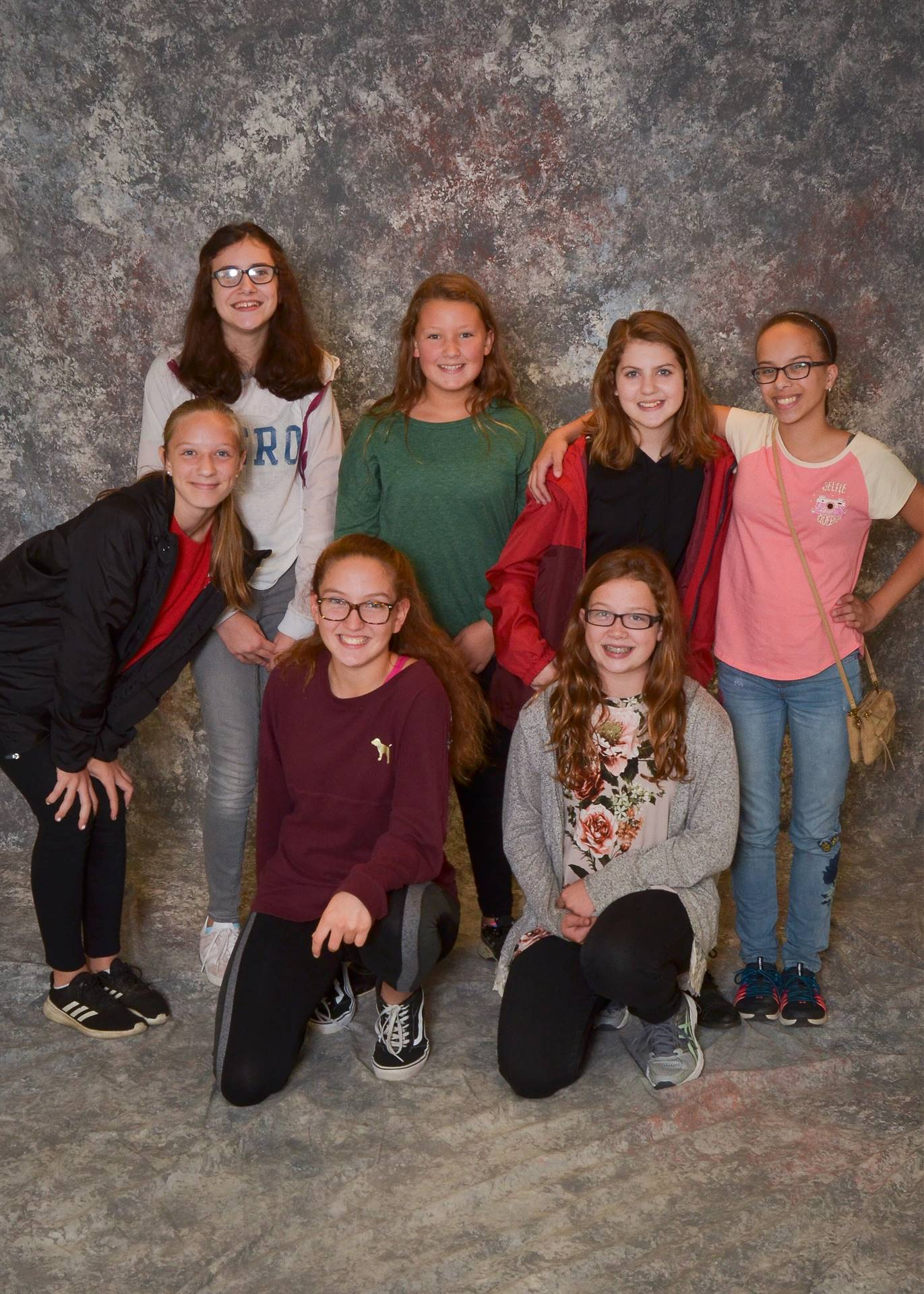Seven Girls in a Buddy photo