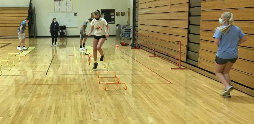 photo of conditioning drill