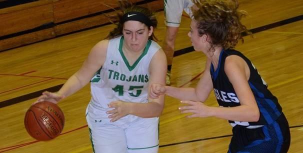 photo of girl basketball players