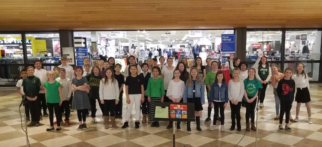 Image of Intermediate Chorus at Oakdale Mall