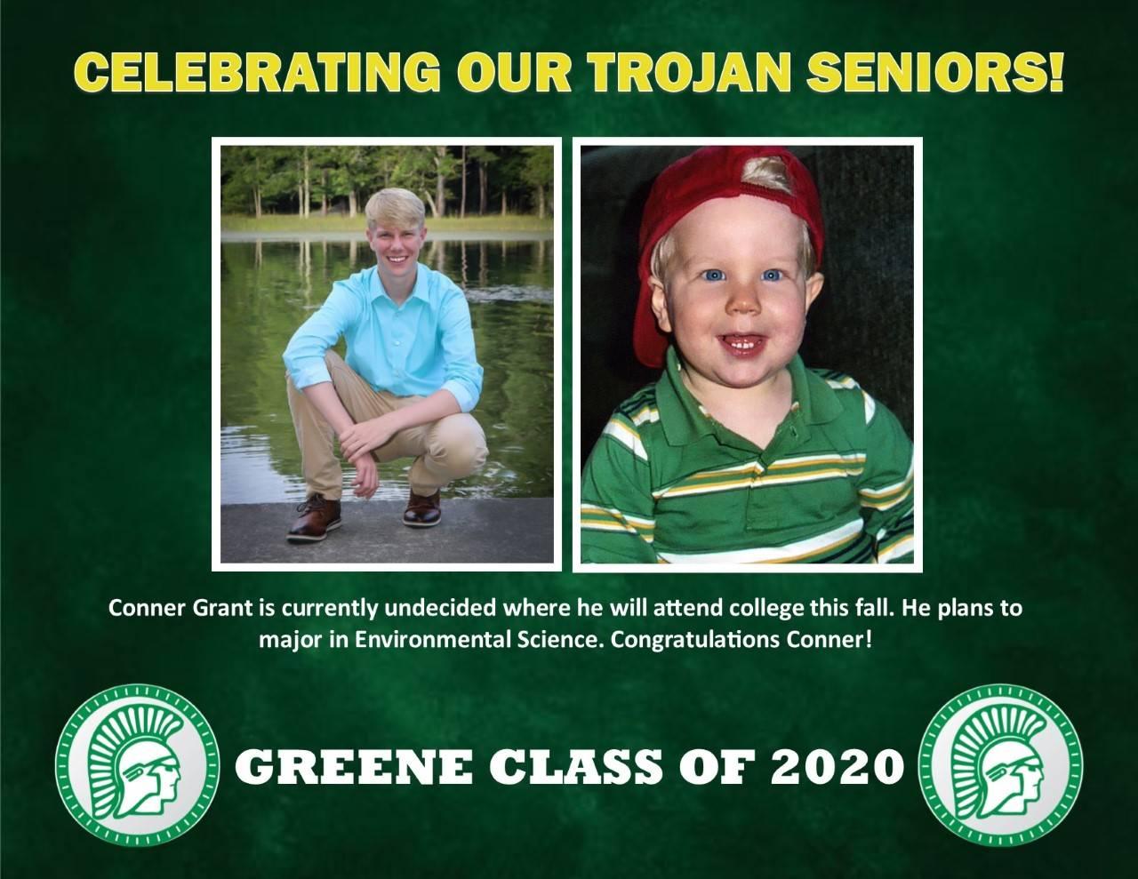 Conner Grant Senior Spotlight