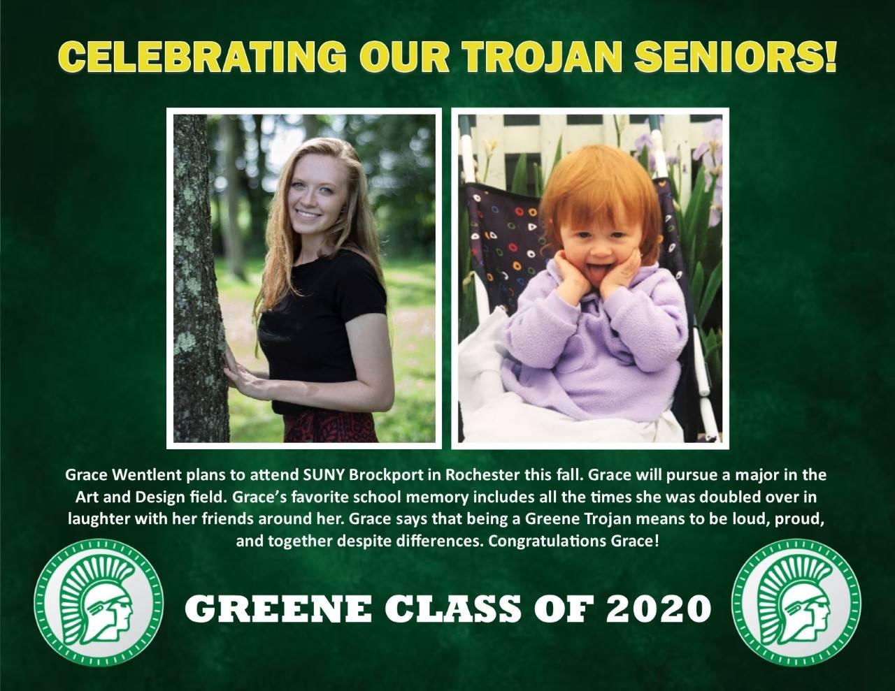 Grace Wentlent Senior Spotlight