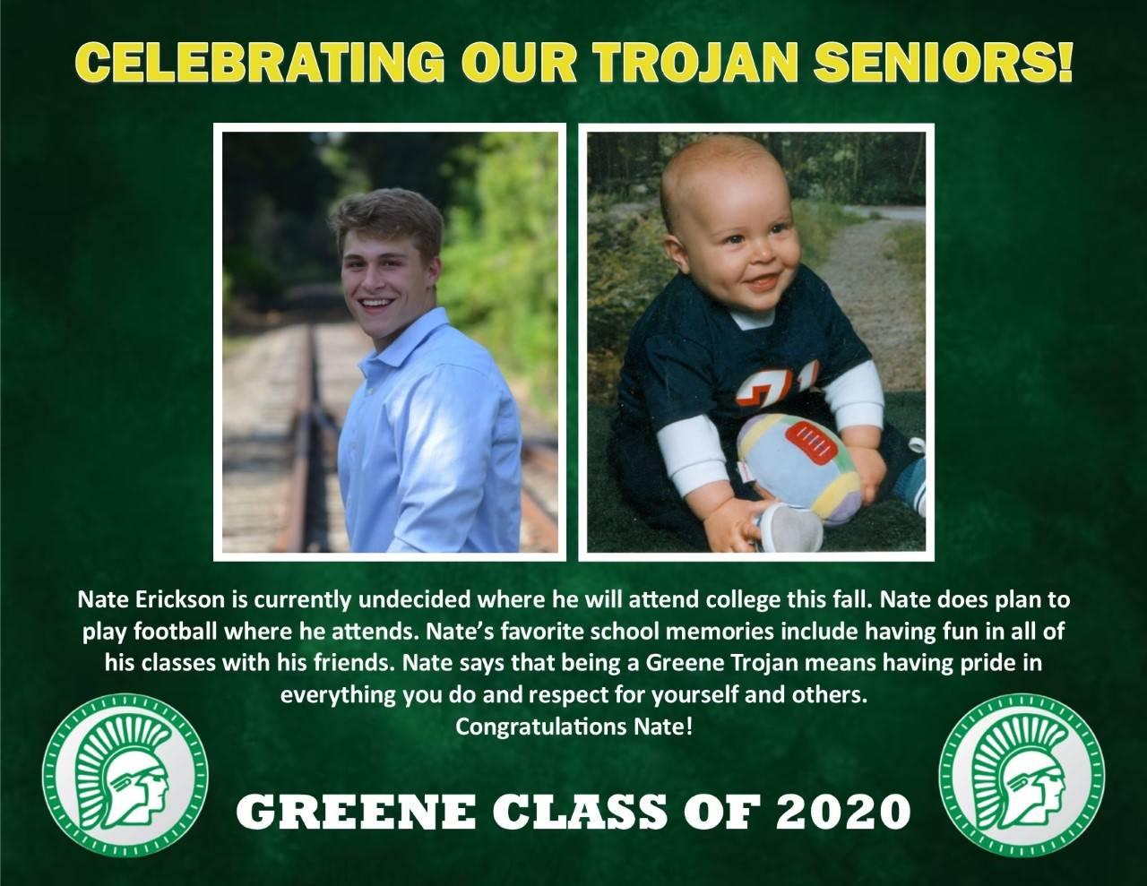 Nate Erickson Senior Spotlight