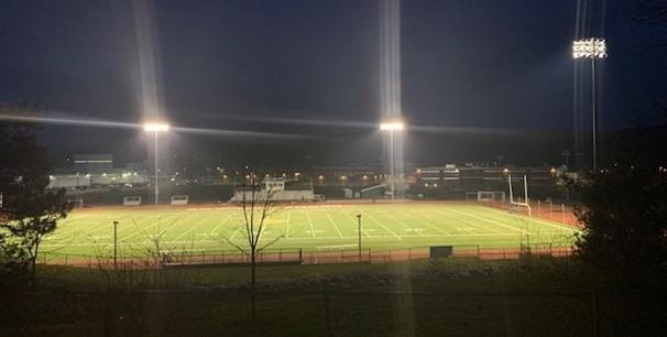 photos of stadium lights