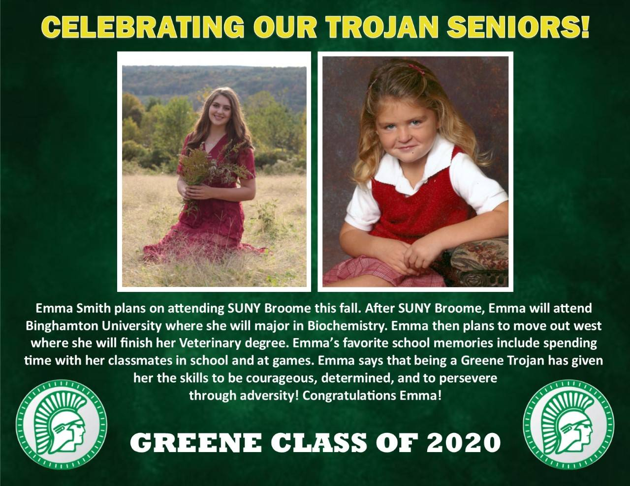 Emma Smith Senior Spotlight