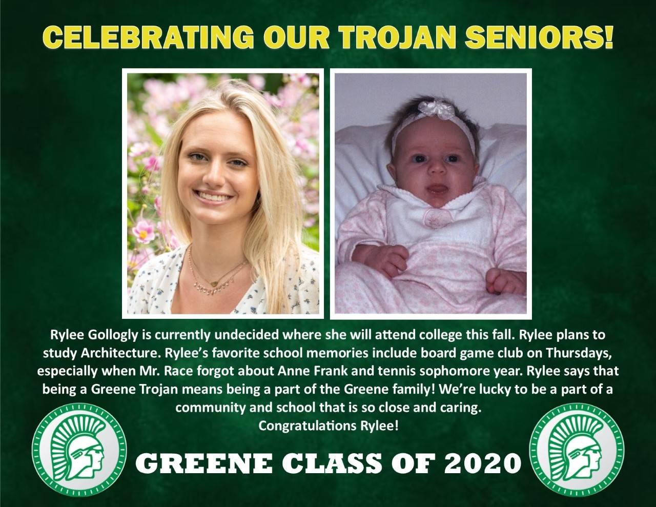 Rylee Gollogly Senior Spotlight