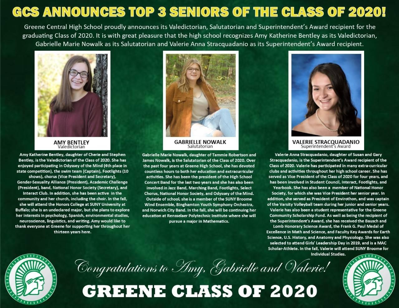 Top 3 Seniors