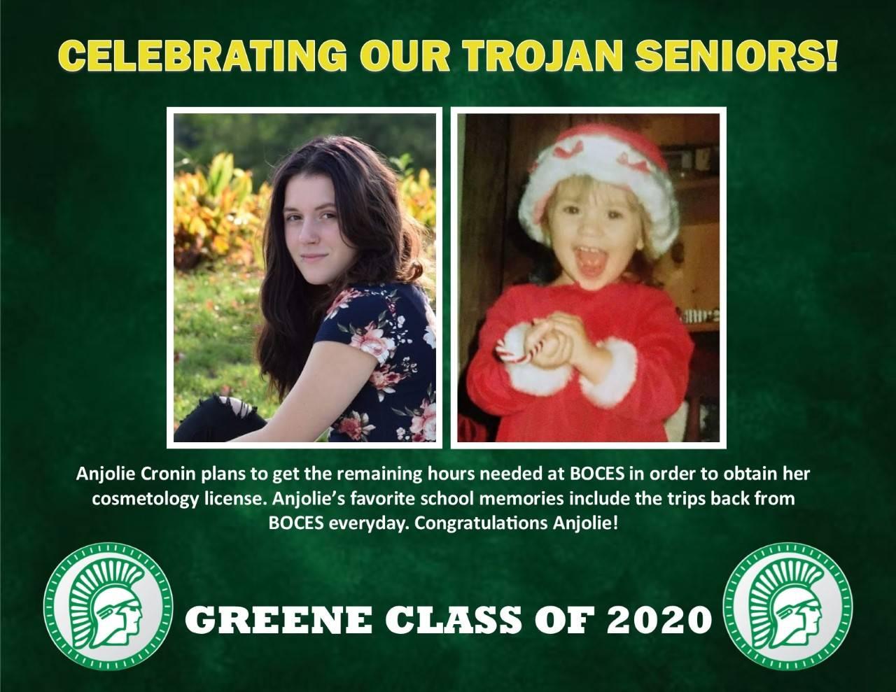 Anjolie Cronin Senior Spotlight