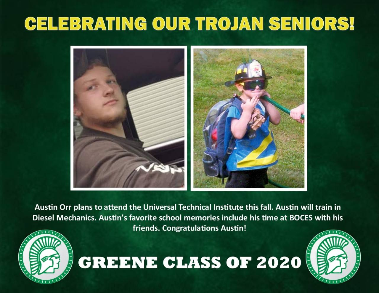 Austin Orr Senior Spotlight