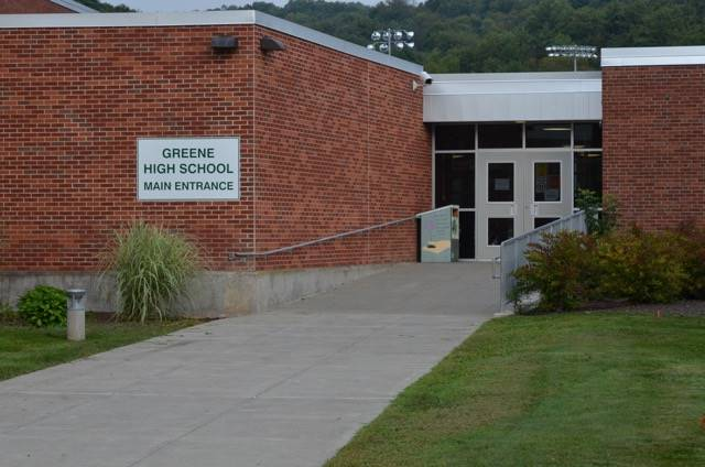 Photo of Greene HS main entrance