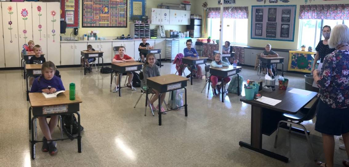 Intermediate School class photo
