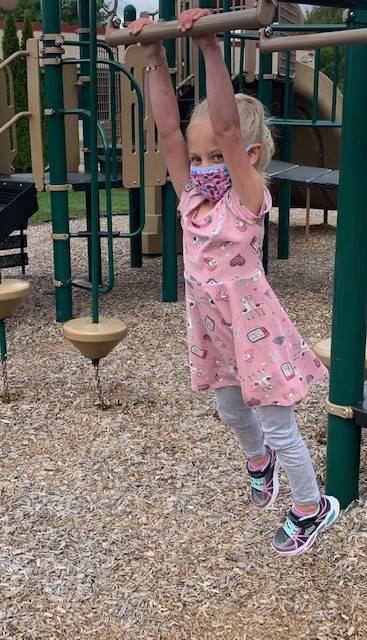 Mrs. Blakeslee's student on playground 3