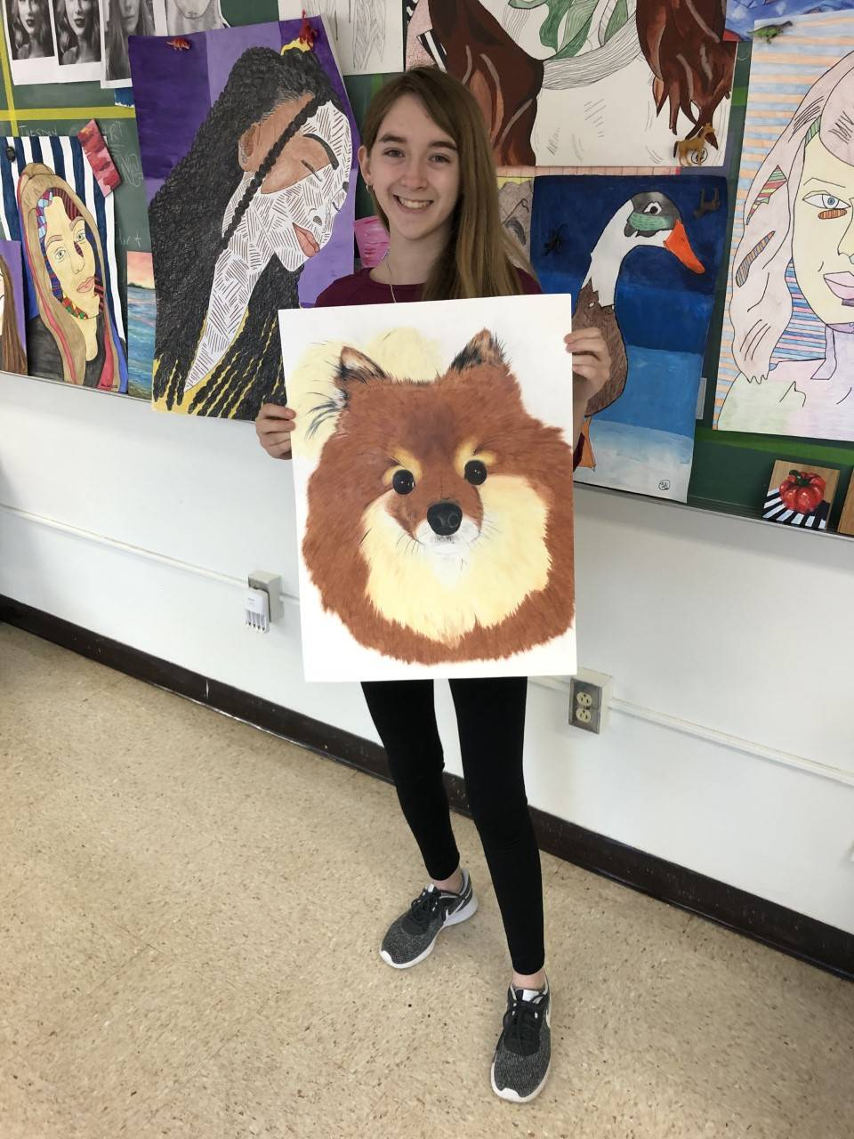 Photo of HS Art Students 1