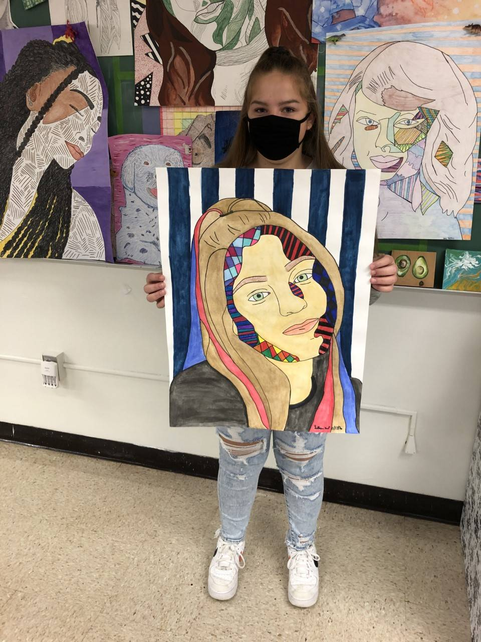 Photo of HS Art Student 2