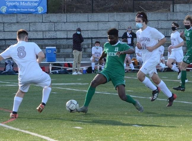 Terriek Brown soccer photo