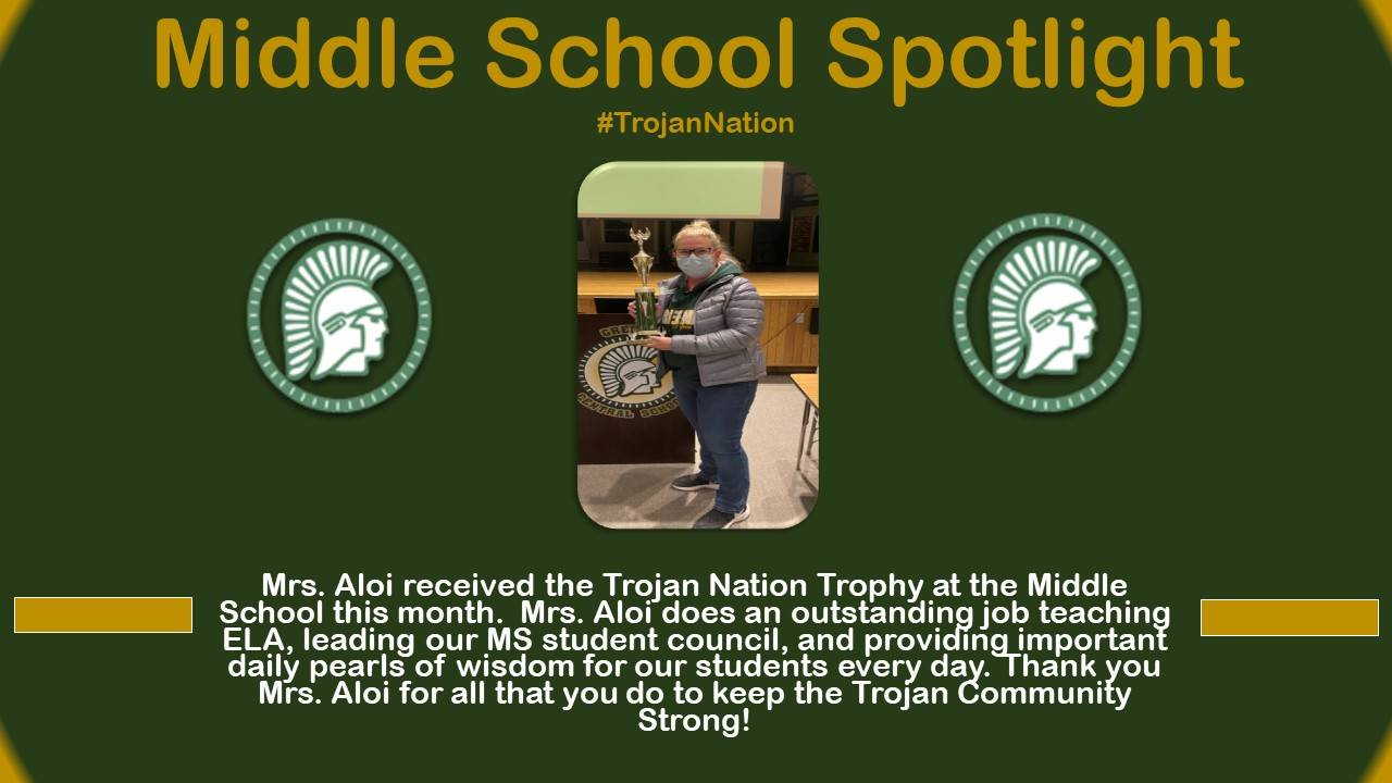Mrs. Aloi Middle School Spotlight Bio