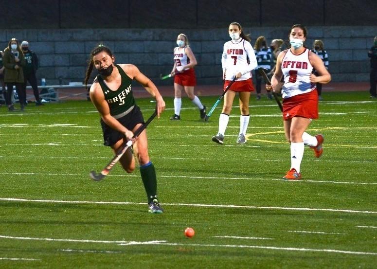 Olivia Kennedy field hockey action photo