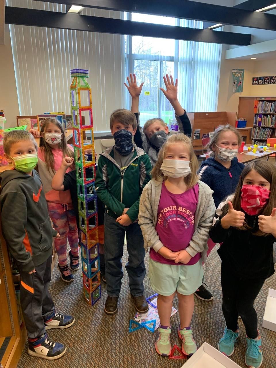 Primary School group photo of STEM kids