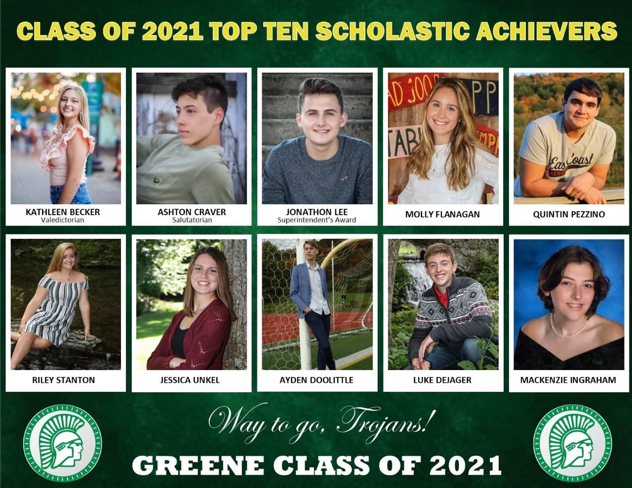 Top 10 Senior Spotlight Bio